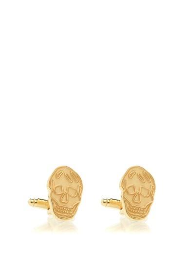 Alexander McQueen Kol Düğmesi Altın